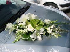 Notre mariage le 20 Août 2005 - Déco voiture