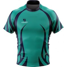 Bespoke Rugby Shirt designs manufactured in the UK by Scorpion Sports.