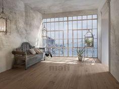 oak engineered hardwood floor CORAL OAK WHITE BRUSHED WHITE OILED MAFI