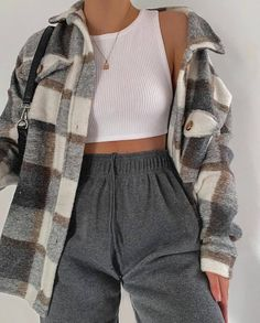 Adrette Outfits, Trendy Fall Outfits, Cute Lazy Outfits, Indie Outfits, Winter Fashion Outfits, Retro Outfits, Cute Casual Outfits, Grunge Outfits, Flannel Outfits