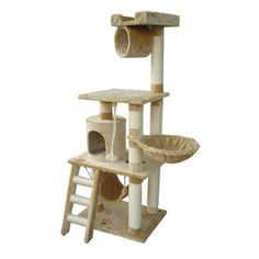 "Kitty Mansions 62"" Boston Cat Tree"