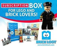 Don't miss your chance to save off your monthly LEGO & Brick box! Save 10% off ANY Brick Loot subscription today! http://www.findsubscriptionboxes.com/coupons/save-10off-any-brick-loot-subscription/?utm_campaign=coschedule&utm_source=pinterest&utm_medium=Find%20Subscription%20Boxes&utm_content=Brick%20Loot%3A%20Save%2010%25%20Off%20Any%20Subscription