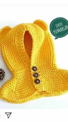 Knitting patterns, knitting designs, knitting for beginners. Baby Sweater Knitting Pattern, Knitting Machine Patterns, Knit Baby Sweaters, Knitted Baby Clothes, Baby Hats Knitting, Knitted Hats, Crochet Baby Beanie, Crochet Kids Hats, Knit Crochet