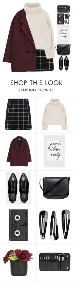 """#687"" by giulls1 ❤ liked on Polyvore featuring Miss Selfridge, Mansur Gavriel, Luckies, NLY Accessories and BHCosmetics"