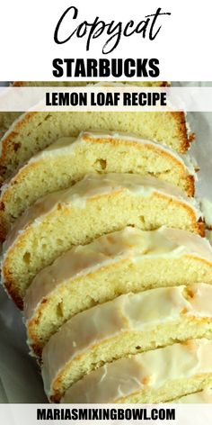 Loaf Recipes, Bakery Recipes, Lemon Recipes, Cooking Recipes, Copycat Recipes, Desserts For A Crowd, Fun Desserts, Dessert Recipes, Italian Lemon Pound Cake