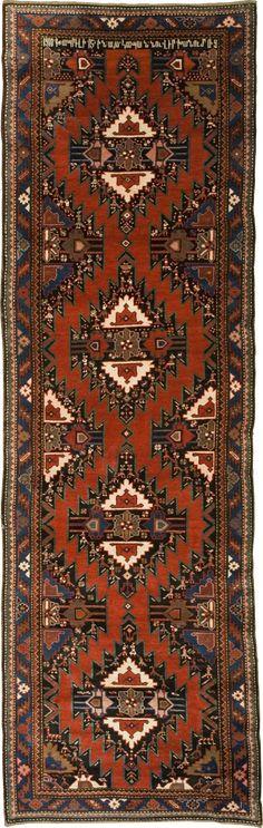 "Rug ""Chartar""  - Armenian Carpets Size 350x110  Origin: Artsakh"