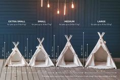 Cat Teepee, Teepee Tent, Pet Beds, Dog Bed, Puf Grande, Pet Furniture, Bedroom Furniture, Furniture Design, Baby Pillows