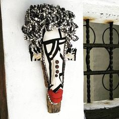 &Banana handmade African jewelry & crafts store, established in 1998 and positioned at the foot of the scenic Chapman's Peak Drive in Hout Bay, Cape Town, South Africa. African Masks, African Jewelry, Craft Stores, Jewelry Crafts, Wall Decor, Banana, Textiles, Hand Painted, Instagram Posts