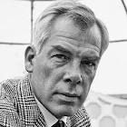 Lee Marvin (2/19/24 - 8/29/87) American film actor. Known for his gravelly voice, white hair and 6 ft 2 in stature, Marvin at first did supporting roles, mostly villains, soldiers and other hardboiled characters,