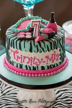 Spa party Birthday Party Ideas | Photo 1 of 27 | Catch My Party