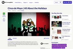 This Cinco de Mayo Lesson Planet, Holiday Classrooms, Direct Instruction, Study History, Instructional Strategies, 5th Grades, Cranberries, Critical Thinking, Social Studies