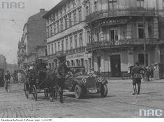 Nowy Świat/ Al. Jerozolimskie, 1918-39.