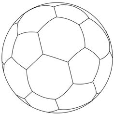 Soccer ball coloring page printable School Themes