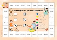New dice games with verbs JacMo and I are very happy that the dice … - Education 2019 Trend German Language Learning, Learn A New Language, Language Arts, Ways Of Learning, Student Learning, Senses Preschool, Importance Of Education, Languages Online, Learn German