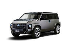 トヨタ、VANとSUVを融合させた新ジャンルのコンセプト「Tjクルーザー」を東京モーターショーに出展! - Autoblog 日本版