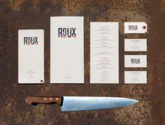 ROUX Restaurant Branding on Behance
