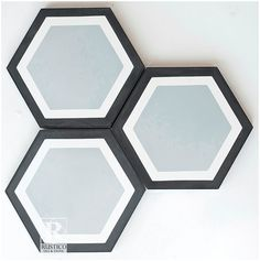 Check out this Hexagon Cement tile - along with other Geometric Shapes. It's great for use in bathrooms given its beauty, versatility in concrete tile designs, and durability. Contact Rustico Tile and Stone for a price estimate. We offer wholesale prices and we ship WORLDWIDE!  Shop bathroom tiles in our Cement Tile MeaLu Collection. #rustico #cementtile #encaustic #tile #flooring #bathroom #decor #homedecor #interior #design #interiordesign #architecture #floor #decorative #mexicantile…