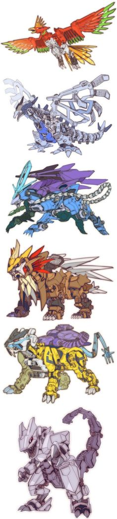 pokemon zoid crossover<<<<<<<!!!!!!!!!!!!!!!! Zoid???!! I remember that game!!!