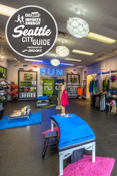 Running Stores (SHOES-n-FEET): Just across Lake Washington in Bellevue you should head to SHOES-n-FEET for your race weekend needs. If you want to celebrate race weekend with a new pair of kicks, you can get fitted by the friendly and knowledgeable staff (be sure to try out the new Brooks Levitate!). Running Stores, Seattle City, Run Happy, How To Become, Levitate, Infinite, Washington, Kicks, Shoes