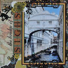 Venice, The Bridge of Sighs - RIGHT SIDE - Scrapbook.com