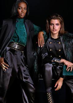 Balmain x H&M collaboration: the first look