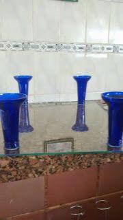 Diy Vintage , Shabby Chic , Retrô e Reciclagem: Fiz Tabuleiro de vidro para bolo, rocamboles... Ch...