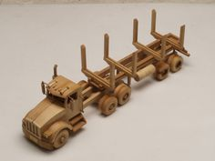 wood toy plans kits | Model Building Wooden Trucks | How To Building ...