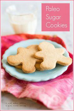 Paleo Sugar Cookies   #AGirlWorthSaving