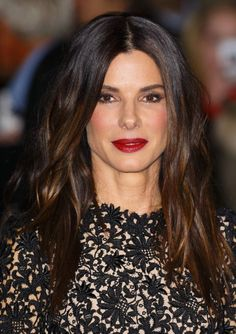 Sandra Bullock went for a glamourous look at the screening of Gravity 2b053b9f2bd1b