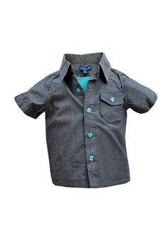 Cooles Hemd Jungen NEU 100% Baumwolle MINOTI Gr. 74 80 86 92 Shirt 2in1 Kurzarm