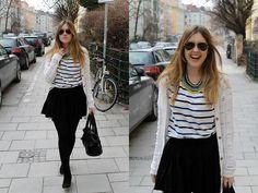 Little stripes (by Amy Ramírez) http://lookbook.nu/look/4725879-Little-stripes