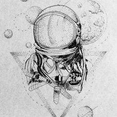Astronaut! 17cm. Disponível para ser tatuado, quem vai ter moral  informações…