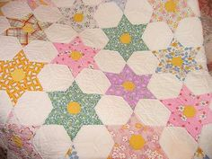 Looks just like a hand stiched texas star quilt I have from my grandma.