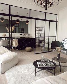 Lene Orvik (@leneorvik) • Instagram photos and videos Home Room Design, Dream Home Design, Home Interior Design, Home Living Room, Living Room Decor, Tiny House Luxury, Estilo Interior, House Rooms, House Styles