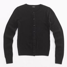 Factory classic crewneck cardigan in cashmere [in every colour!]