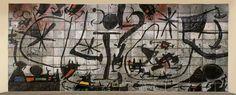 Joan Miro 1967 Mur du Solomon R. Guggenheim Museum, New York