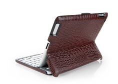 Alligator leather ZAGG iPad keyboard case. $99.99