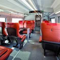 First Class on Italo Train