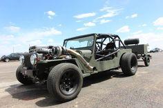 Twin-Turbo Jeep Rat Rod Deathtrap at Drag Weekend West Video! - Four Wheeler Jeep Rat Rod, Rat Rod Pickup, Rat Rod Cars, Rat Rods, Custom Jeep, Custom Trucks, Custom Cars, Rat Rod Pictures, Rat Rod Build