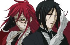 Sebastian and Grell by Naruto-lover16 on deviantART