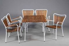 Wire Patio And Furniture On Pinterest
