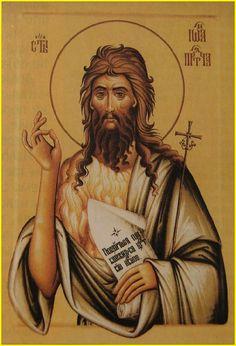 Religious Icons, Religious Art, Greek Icons, Religious Paintings, Byzantine Icons, Orthodox Christianity, Saint John, John The Baptist, Museums