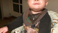 Strikkeopskrift babysokker | Gratis opskrift på baby sokker | Fuldtidsmor.dk Face, The Face, Faces, Facial
