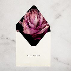Wedding Invitations / Decadently Dark Florals...