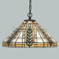 Lloyd Art Deco Pendant Ceiling Light