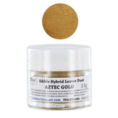 Edible Hybrid Luster Dust, Aztec Gold by Chef Alan Tetreault ALAN TETREAULT SELECT PRODUCTS http://www.amazon.com/dp/B00HXCGIKY/ref=cm_sw_r_pi_dp_2exRub00YXPYQ
