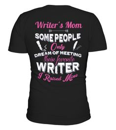 Proud Writers Mom - Limited Edition  #gift #shirt #ideas #momo #supermom #MothersDayShirt #ShirtforMom #sweatshirt #mothersday2017