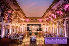 A perfect reception at the Fairmont Copley Plaza