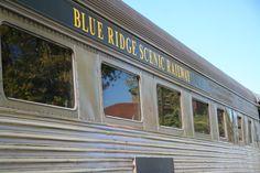 1. Blue Ridge Scenic Railway—241 Depot Street Blue Ridge, Georgia 30513