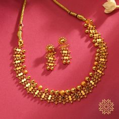 Manubhai Jewellers Collection |Shop Bangles, Chain, Necklace, Ring, Diamonds, Gold jewellery| Borivalu, Mumbai| manubhai.in Jewelry Design Earrings, Gold Earrings Designs, Gold Jewellery Design, Bridal Jewelry Vintage, Gold Wedding Jewelry, Bridal Jewellery, Gold Chocker Necklace, Choker, Gold Chain Design